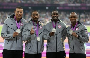 The IOC has stripped the US men's 4x100m relay team of its London 2012 silver medal because of Tyson Gay's doping case ©Getty Images